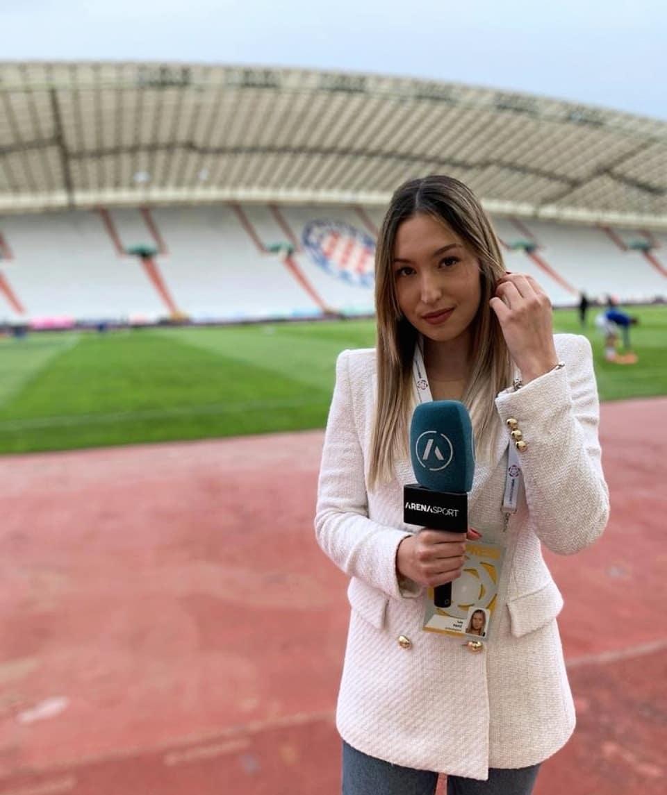 Sportska Hrvatska Donedavna reprezentativka, sada je nogometna TV komentatorica